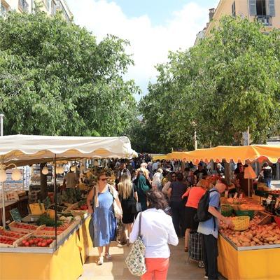 Le marché de Toulon