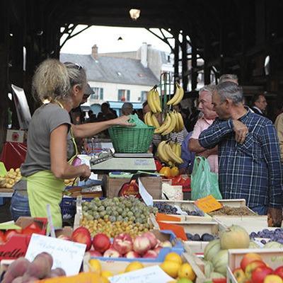 Le marché d'Arpajon dans l'Essonne