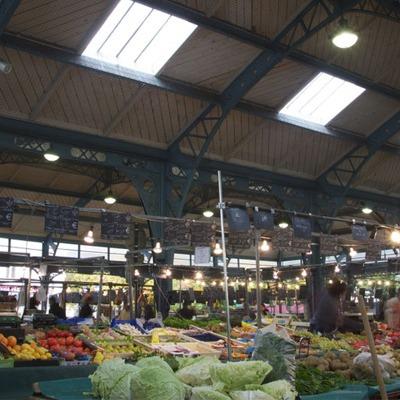 Le marché de Meaux en Seine-et-Marne